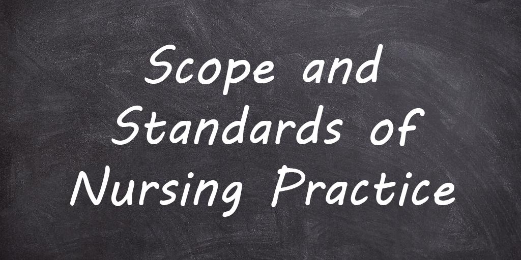 Scope and Standards of Nursing Practice Essay